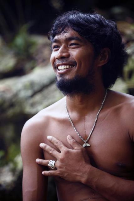Philippines people philippine man katiklan island philippines